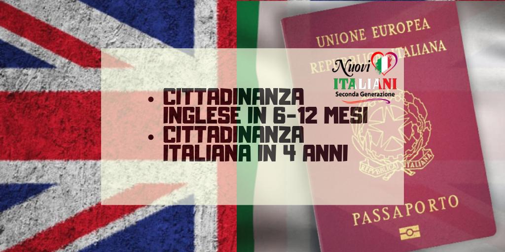 cittadinanza in due anni